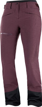 Salomon PROOF LT INSULATED Skihose Damen Rot