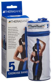 TheraBand 2.5m bande fitness  Bleu