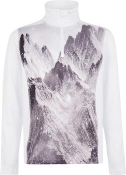 McKINLEY Daniston Rollkragen Skishirt langarm Weiss