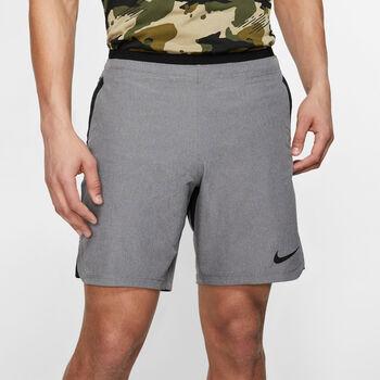 Nike PRO Flex Rebel Fitnessshorts Herren Grau