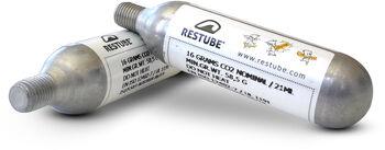 RESTUBE Co2 Cartridges (16 g) Cartouches de remplacement Argent
