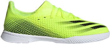 adidas X Ghosted.3 Fussballschuh Indoor Gelb