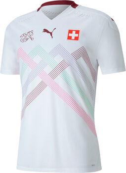 Puma SFV Schweiz Nati Away Authentic Fussballtrikot Weiss