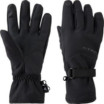 McKINLEY Devon gants de ski à softshell  Hommes Noir