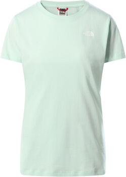The North Face Simple Dome t-shirt Femmes Bleu