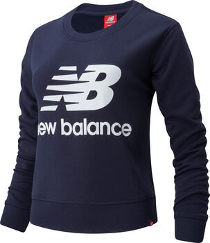 New Balance Essentials Crew Pullover Damen Blau