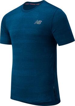 New Balance Q Speed Fuel Jacquard haut de running Hommes Bleu