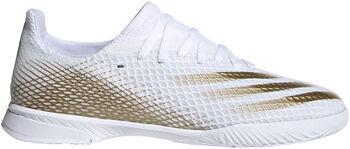 adidas X Ghosted.3 Indoor Fussballschuh Weiss