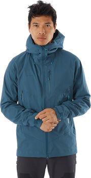 MAMMUT Kento Hooded veste hardshell de 2.5 couches Hommes Bleu