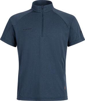MAMMUT Aegility Half Zip T-Shirt Herren Blau