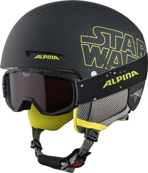 ALPINA Zupo Disney Set Casque de ski Gris