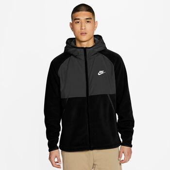 Nike Sportswear Full-ZIP Hoody Herren Schwarz