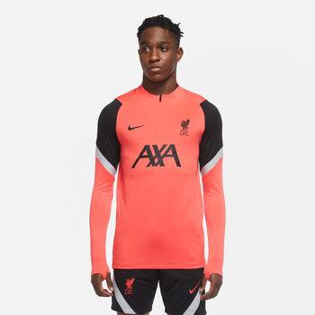 Nike FC Liverpool Strike Fussballshirt langarm Herren Rot