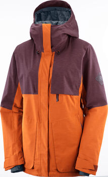 Salomon PROOF LT INSULATED Skijacke Damen Rot