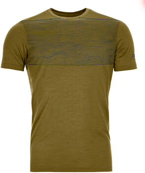 ORTOVOX 120 COOL TEC WOOD T-Shirt Herren Grün