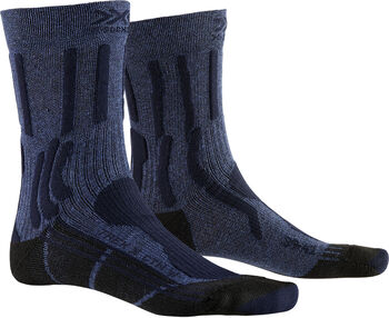 X-Socks TREK X COTTON Wandersocken Herren Blau