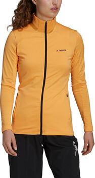 adidas TERREX Multi Full-Zip Wanderjacke Damen Orange