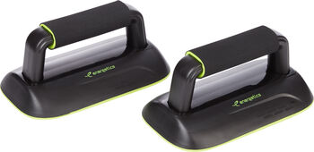 ENERGETICS Push Up Balance Bars Schwarz