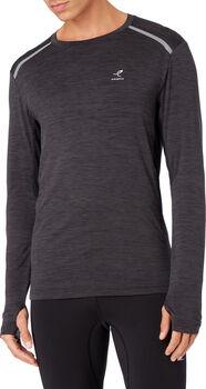 ENERGETICS Aimo II Shirt de running à manches longues Hommes Noir