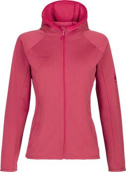 MAMMUT Nair Midlayer Hooded Fleecjacke Damen Pink