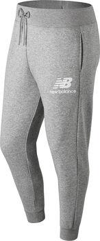 New Balance Essentials Stacked Logo Pantalon d'entraînement Hommes Gris