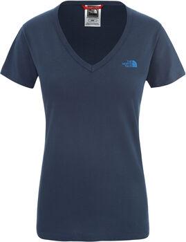 The North Face SIMPLE DOM T-Shirt Damen Blau