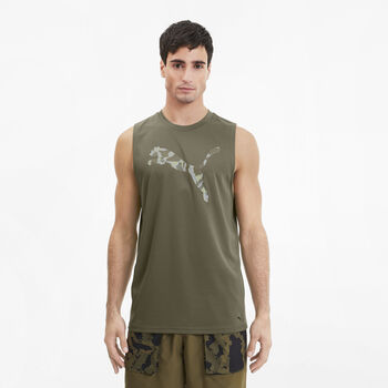 Puma First Mile Tank Top Herren Grün