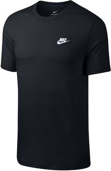 Nike Sportswear Club T-Shirt Herren Schwarz
