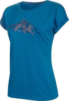 MAMMUT Mountain T-Shirt Damen Blau