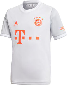 adidas FC Bayern München 20/21 Auswärtstrikot Weiss