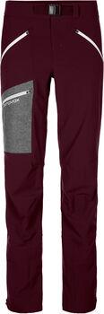ORTOVOX CEVEDALE pantalon de ski Femmes Rouge