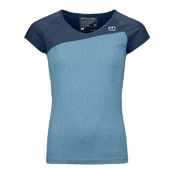 ORTOVOX 120 TEC T-Shirt Damen Blau
