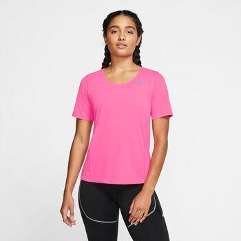 Nike City Sleek Laufshirt Damen Pink