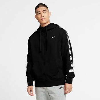 Nike Sportswear Repeat Hoody Herren Schwarz