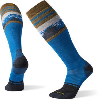 Smartwool PhD Snow Light Elite Pattern Socken Blau