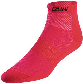 PEARL iZUMi Elite Chaussettes de vélo Femmes Rouge