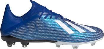 adidas X 19.2 FG Chaussure de football Hommes Bleu