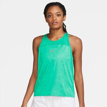 Nike Miler Run Division tanktop Femmes Vert