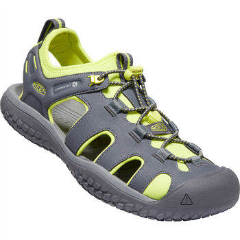 KEEN Solr Sandal Herren Grau