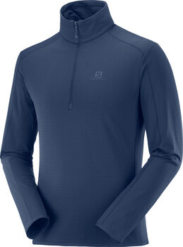 Salomon Outrack Half Zip Herren Blau