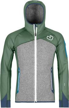 ORTOVOX Fleece Plus Hoody Hommes Vert