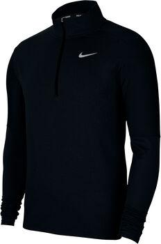 Nike Dri-FIT Element 1/2 Zip Laufshirt langarm Herren Schwarz