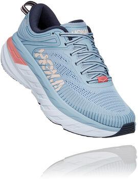 Hoka One One Bondi 7 Glide Chaussure de running Femmes Bleu