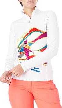 McKINLEY Ganiston Langarm-Shirt Damen Weiss