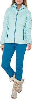 McKINLEY Teide Hooded Isolationsjacke Damen Grün