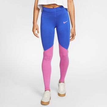 Nike Sportswear Tights Damen Blau