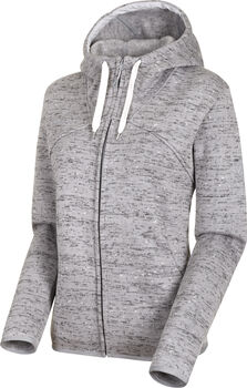 MAMMUT Chamuera Hooded Fleecejacke Damen Grau
