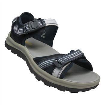 KEEN Terradora II Open Toe Sandal Leather Damen Blau