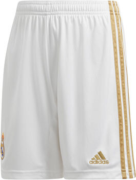 ADIDAS Real Madrid 20/21 Home Replica Fussballshorts Weiss