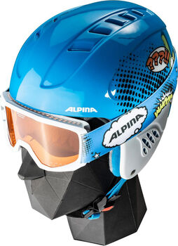 ALPINA Carat Disney Set Skihelm Blau